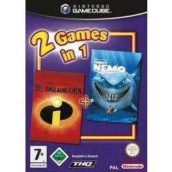 2 Games in 1: The Incredibles / Finding Nemo