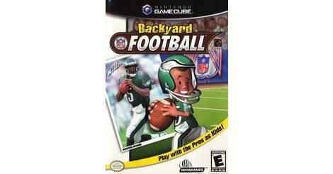 Backyard Football - Nintendo Gamecube