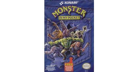 monster in my pocket nes game