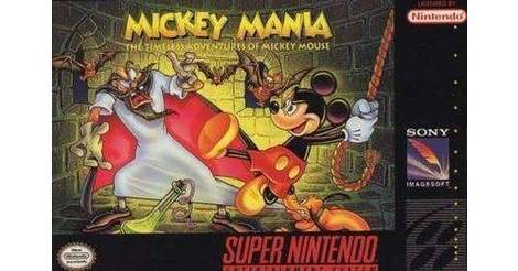 Mickey Mania - The Timeless Adventures of Mickey Mouse - Super