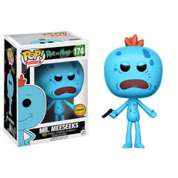 Rick and Morty - Mr. Meeseeks With Gun