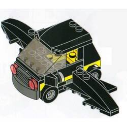 Flying Batmobile