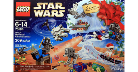 calendrier de l 39 avent 2017 lego star wars 75184. Black Bedroom Furniture Sets. Home Design Ideas