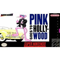 Pink Goes to Hollywood