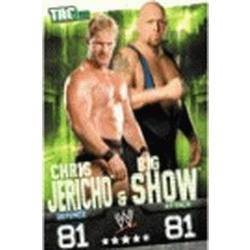 Carte Slam Attax Evolution : Chris Jericho & Big Show