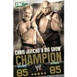Carte Slam Attax Evolution : Chris Jericho & Big Show Champion