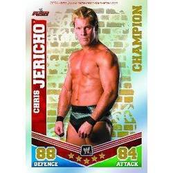 Carte Slam Attax Mayhem : Champion Chris Jericho
