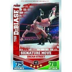 "/""the million dollar man/"" ted dibiase-WWE Slam Attax Mayhem 2010 TOPPS TCG Carte"