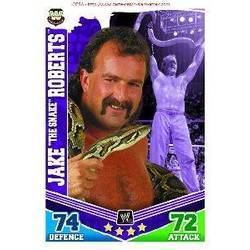 Slam Attax Mayhem Card: Jake The Snake Roberts