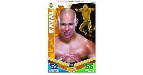 Slam Attax Mayhem Card: Kaval - WWE - Slam Attax - Mayhem