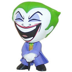 The Joker With Cane Eyes Closed