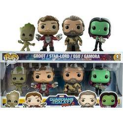 Guardians of the Galaxy 2 - Groot, Star-Lord, Ego And Gamora 4 Pack