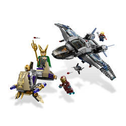 Quinjet Aerial Battle