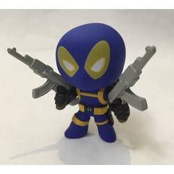 Deadpool Blue With Guns