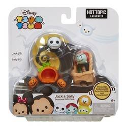 Hot Topic Exclusive Nightmare Before Christmas Tsum Tsum Set
