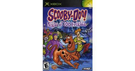 scooby doo night of 100 frights jeu xbox. Black Bedroom Furniture Sets. Home Design Ideas