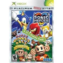 Sonic Heroes and Super Monkey Ball Deluxe