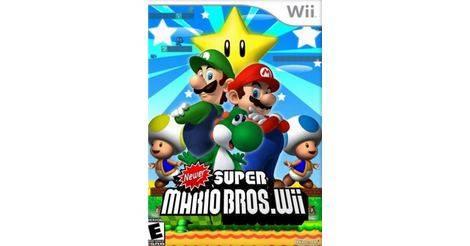 Newer Super Mario Bros Wii Nintendo Wii Game