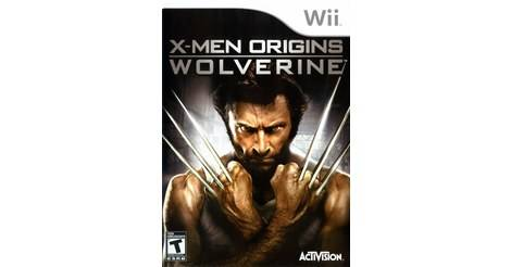 x men origins wolverine jeu nintendo wii. Black Bedroom Furniture Sets. Home Design Ideas