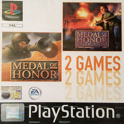Medal of Honor & Underground Double Pack
