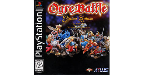 Ogre Battle: The March of the Black Queen - Playstation game