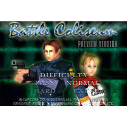 Resident Evil 1.5 Battle Coliseum