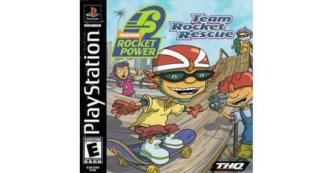 rocket power team rocket rescue playstation game
