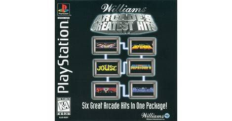 Williams Arcade's Greatest Hits - Playstation game
