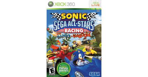 abba14647445 Sonic   Sega All-Stars Racing with Banjo-Kazooie - Xbox 360 game