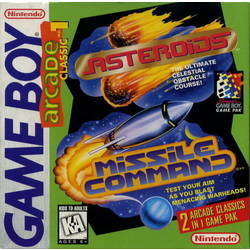 Arcade Classic 1: Asteroids/Missle Command
