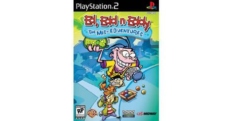 Ed, Edd n Eddy: The Mis-Edventures - Playstation 2: PS2 game