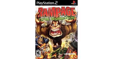 Rampage Total Destruction Playstation 2 Ps2 Game