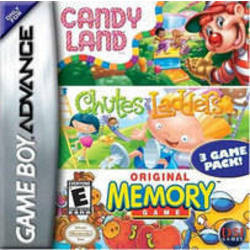 CandyLand / Chutes & Ladders / Original Memory Game