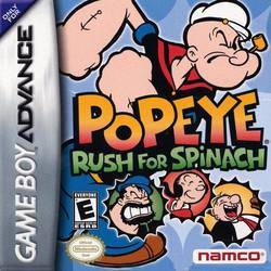 Popeye: Rush for Spinach