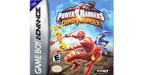 Nintendo Gameboy Advance Power Rangers Dino Thunder | eBay
