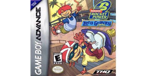 rocket power zero gravity zone game boy advance
