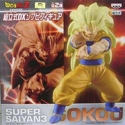 Goku Super Saiyan 3 - Dragon Ball Z Prefabricated DX Soft Vinyl