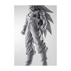 Son Goku Super Saiyan 3 - Dragon Ball Z Scultures Version Gris