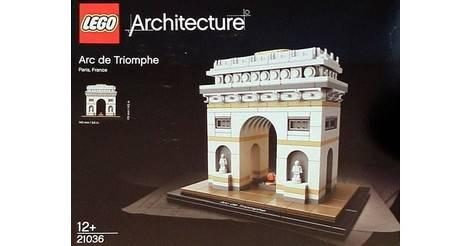 Arc de triomphe lego architecture set 21036 - Lego architecture tour de pise ...