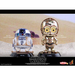 R2D2 And C3PO Dusty Version