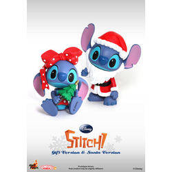 Stitch Santa Version And Gift Version