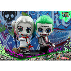 The Joker And Harley Quinn Hammer Version 2 Pack