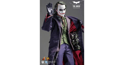 The Joker Hot Toys Deluxe Series Action Figure Dx01