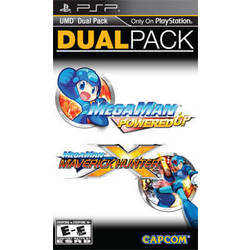 Mega Man Dual Pack Powered Up/Maverick Hunter X