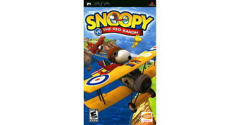 Snoopy Vs The Red Baron Playstation Portable Psp Game
