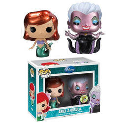 The Little Mermaid - Ariel And Ursula Metallic