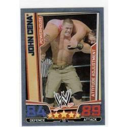 John Cena-WWE Slam Attax Evolution 2009 TOPPS TCG Carte