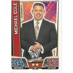 Cole-WWE Slam Attax Evolution 2009 TOPPS TCG Carte Michael