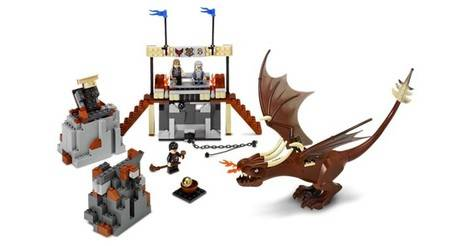 Harry And The Hungarian Horntail Lego Harry Potter Set 4767