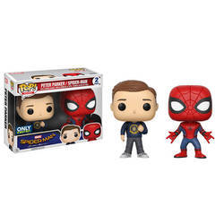 Spider-Man Homecoming - Peter Parker And Spider-Man 2 Pack